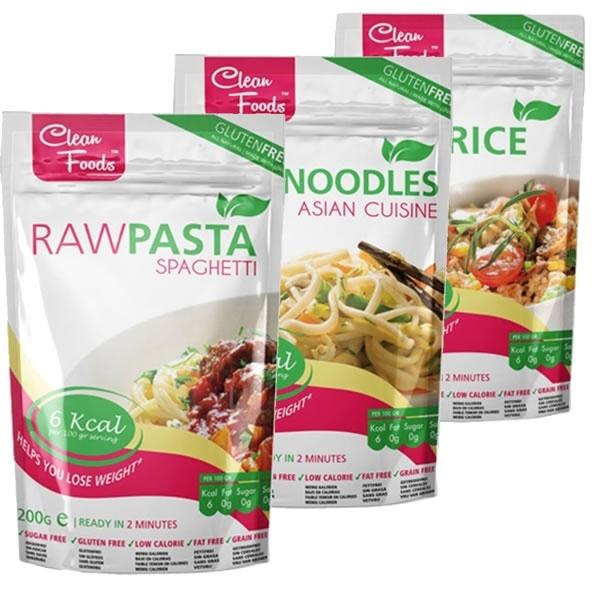 Raw Pasta (Spaghett i +Arroz + Noodles)