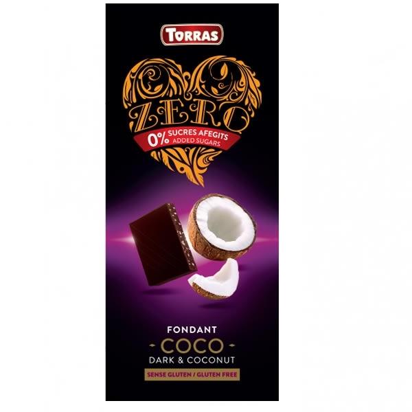 Chocolate Torras Zero Fondant & Coco