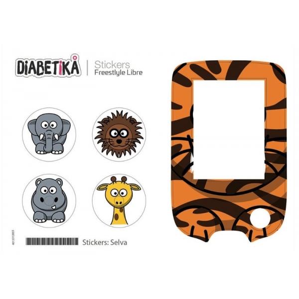 Stickers Libre Glucometro - Selva