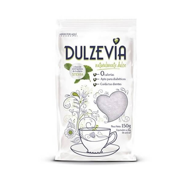 Stevia Dulzevia 150g.