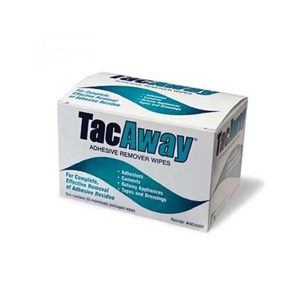 Tac Away Removedor Adhesivo  (50 toallitas)
